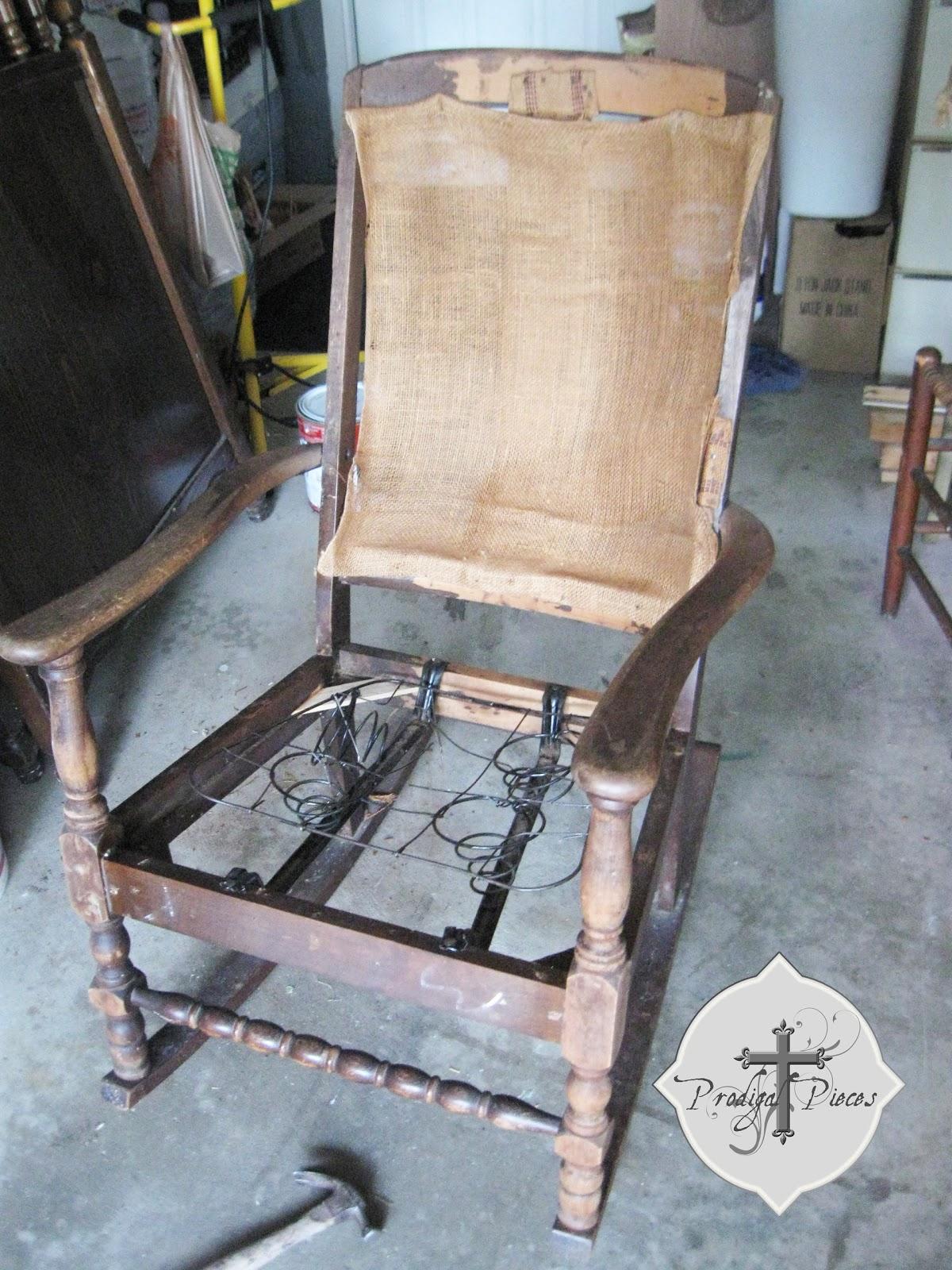 Rocking Chair Redo Prodigal Pieces