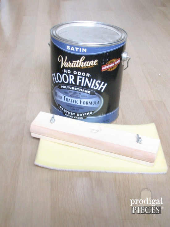 Rustoleum Satin Floor Finish In Farmhouse Style Bedroom By Prodigal Pieces Www Prodigalpieces