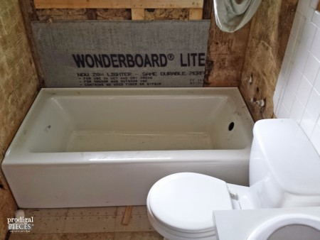 1950 s Bathroom Remodel by Prodigal Pieces   www prodigalpieces com. Farmhouse Bathroom Remodel Update   Prodigal Pieces