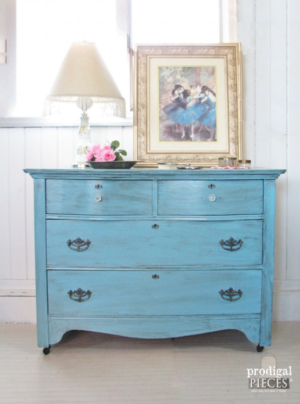 Blue For Baby Themed Furniture Makeover Prodigal Pieces