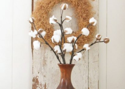DIY Farmhouse Cotton Branches by Prodigal Pieces www.prodigalpieces.com #prodigalpieces