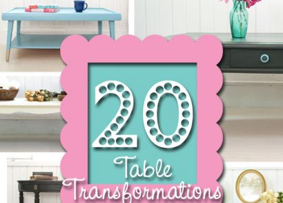 20 Different Table Transformations by Prodigal Pieces | www.prodigalpieces.com