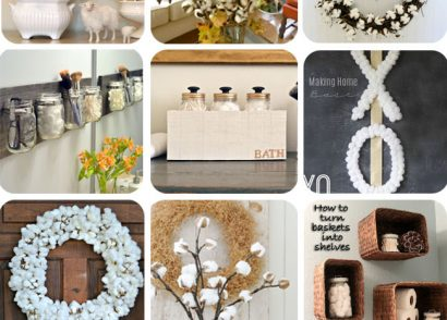 20+ Cotton Crafts & Storage Ideas on Hometalk by Prodigal Pieces www.prodigalpieces.com #prodigalpieces
