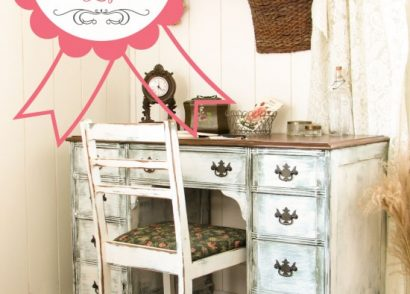 Antique Desk Blogiversary Winner Announced by Prodigal Pieces www.prodigalpieces.com #prodigalpieces