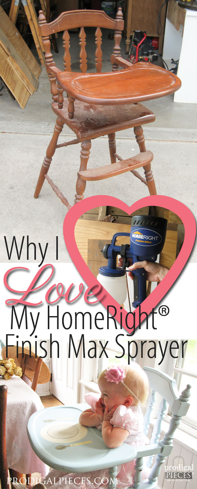 Why I Love My HomeRight Finish Max Paint Sprayer by Prodigal Pieces | www.prodigalpieces.com