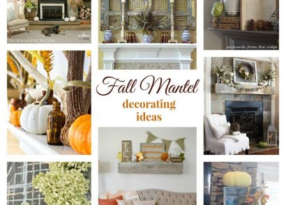 The Fall Ideas Tour Day One - Mantel Inspiration via Prodigal Pieces.www.prodigalpieces.com #prodigalpieces