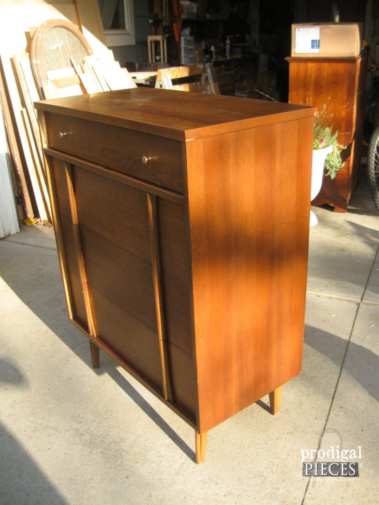 Mid Century Chest of Drawers | Prodigal Pieces | prodigalpieces.com