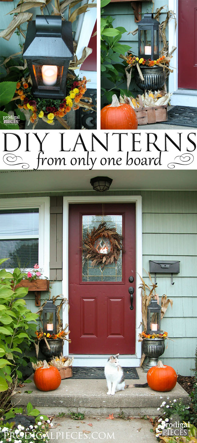 DIY Lanterns from One Board | Prodigal Pieces | www.prodigalpieces.com