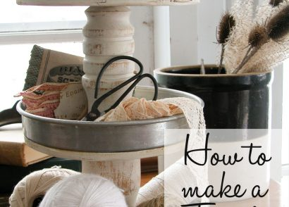 How to Make a Tiered Stand| Prodigal Pieces | prodigalpieces.com