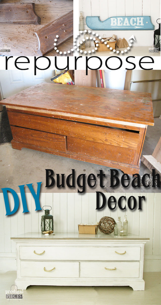 beach decor on a budget prodigal pieces