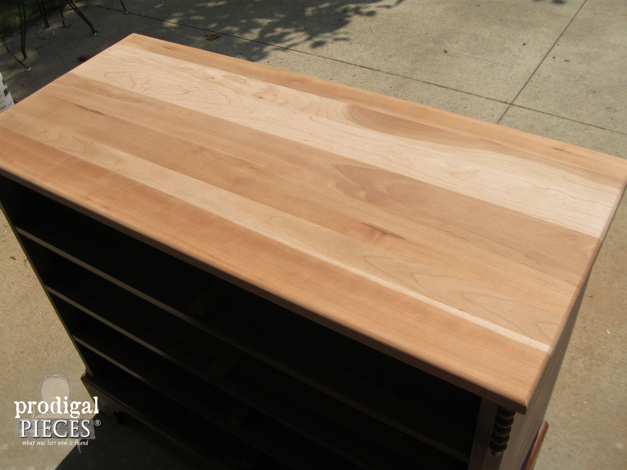 Sanded Cherry Chest of Drawers | Prodigal Pieces | www.prodigalpieces.com