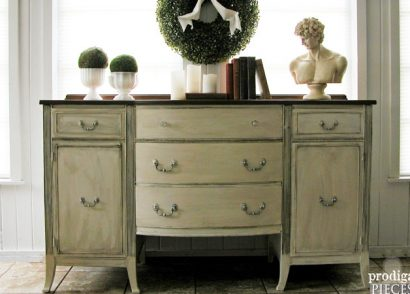 Featured Makeover of Vintage Sideboard by Prodigal Pieces | www.prodigalpieces.com