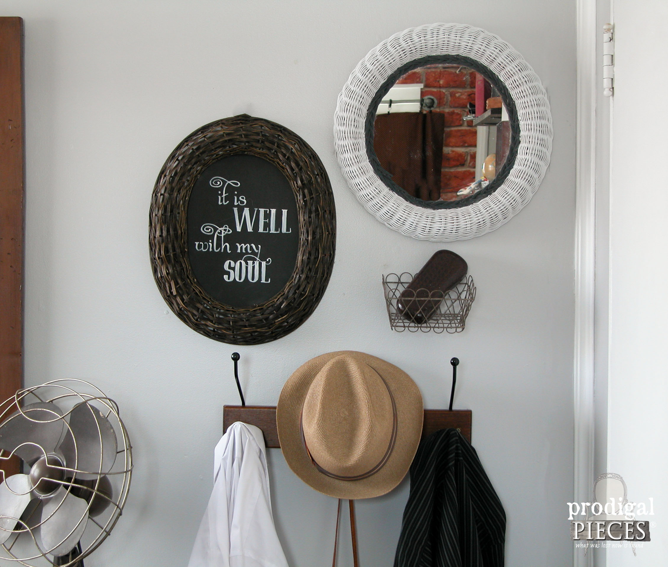 Inspirational Eclectic Thrifted Wall Art by Prodigal Pieces prodigalpieces
