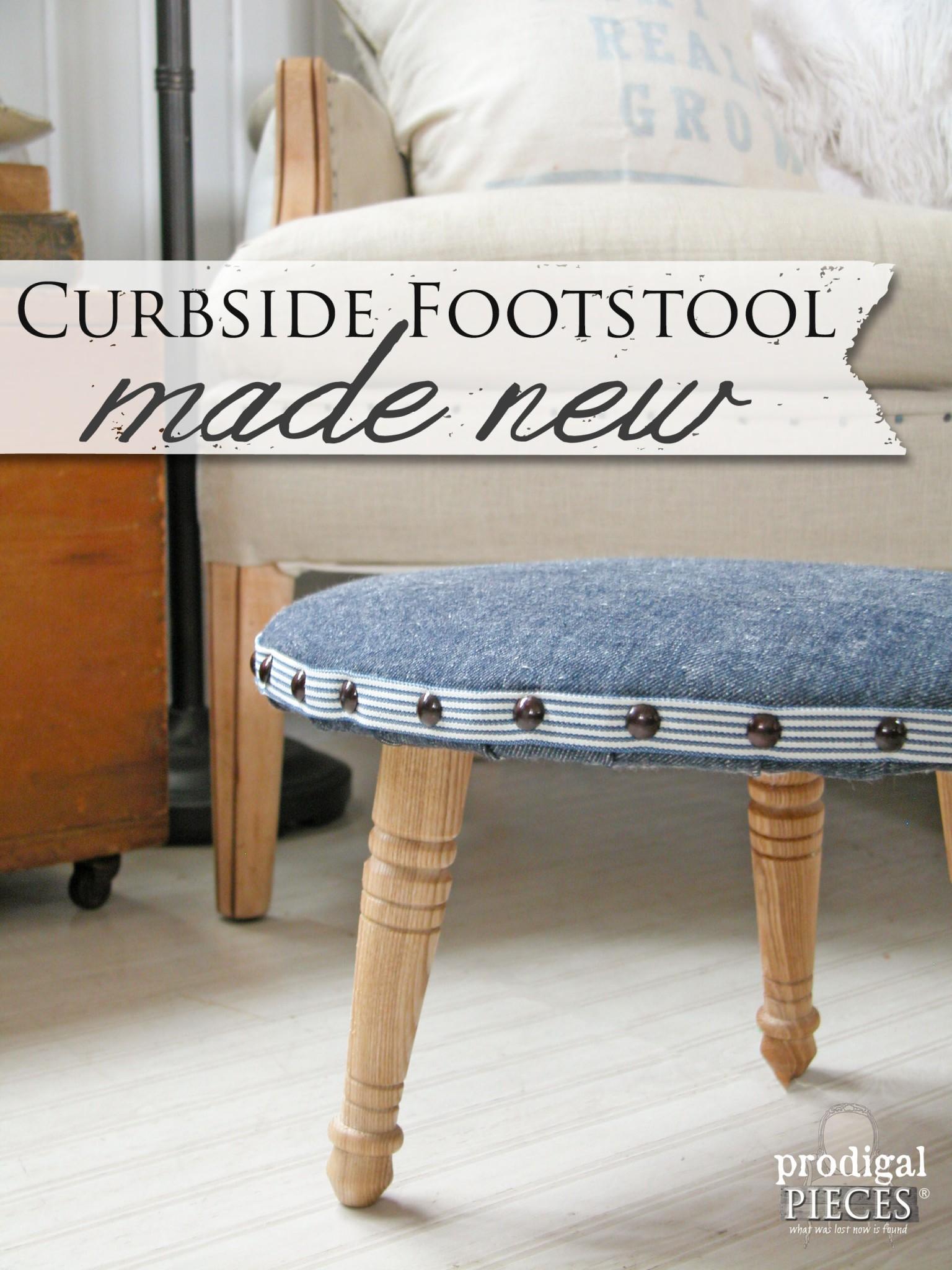 Curbside Foostool Made New