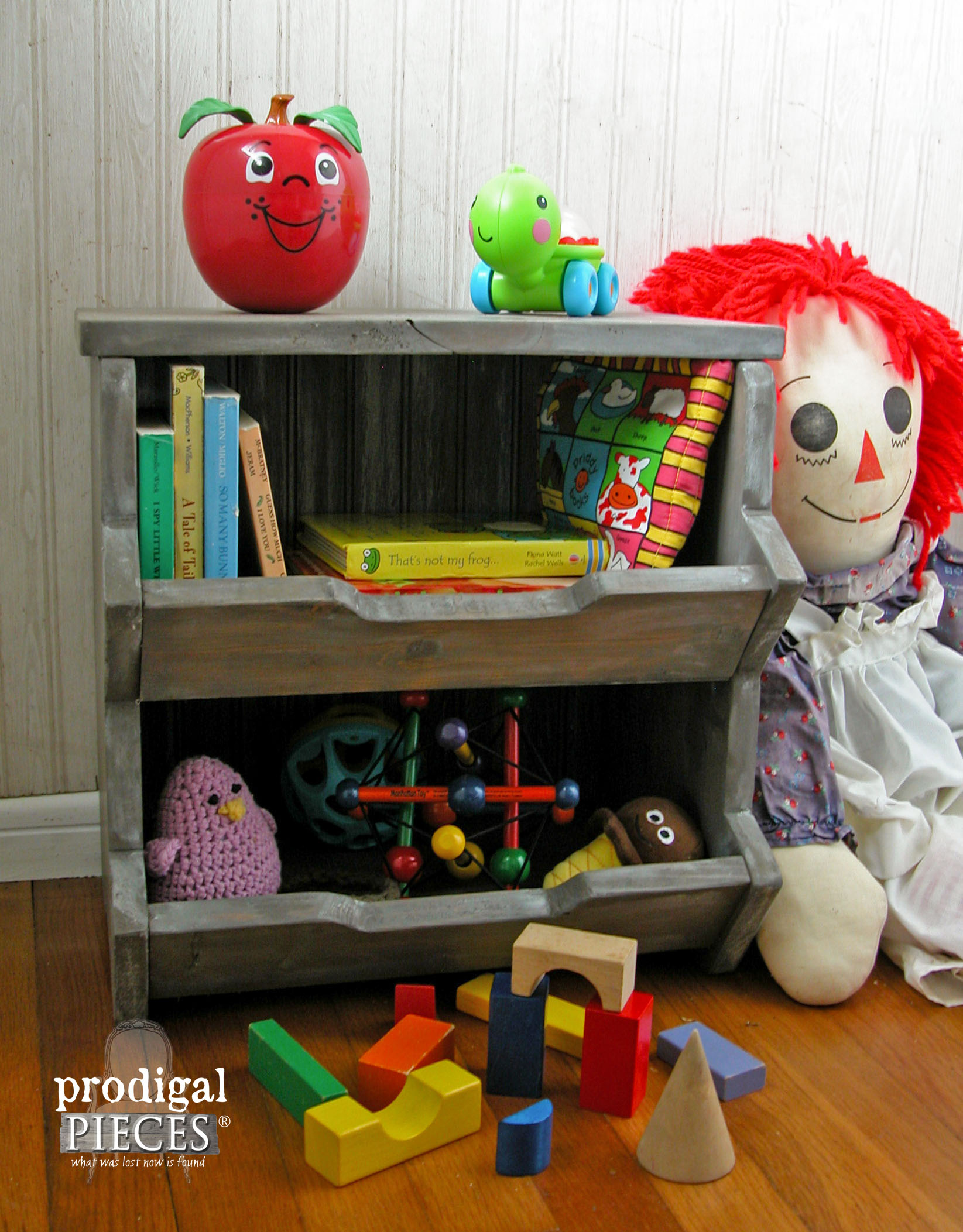 Wooden Toy Storage Bin Tutorial & Plans by Prodigal Pieces | www.prodigalpieces.com