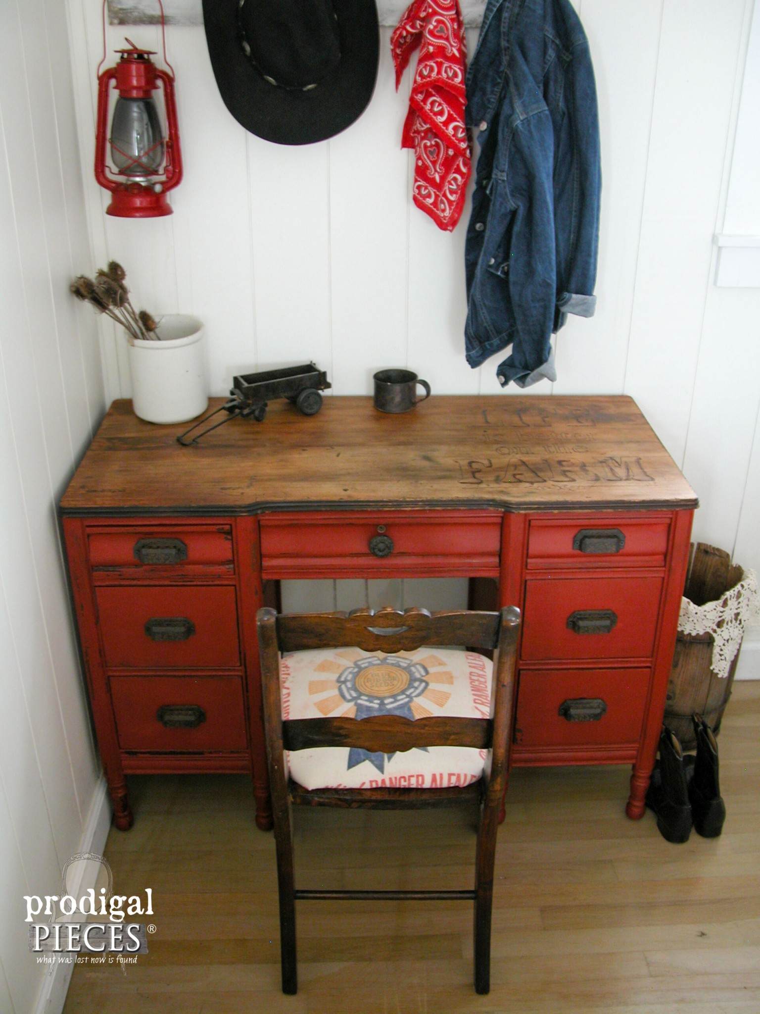 Farmhouse Desk Rescue   Prodigal Pieces