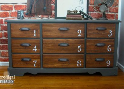 Vintage Dresser Makeover by Prodigal Pieces | www.prodigalpieces.com