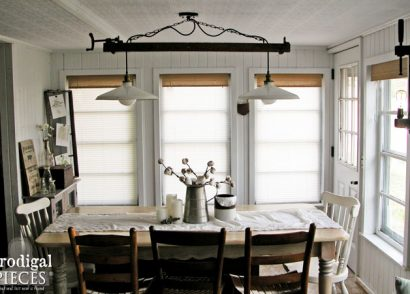 Featured Farmhouse Lighting by Prodigal Pieces | www.prodigalpieces.com