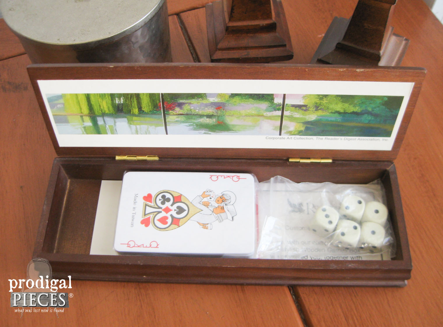 Vintage Reader's Digest Game Box | Prodigal Pieces | www.prodigalpieces.com