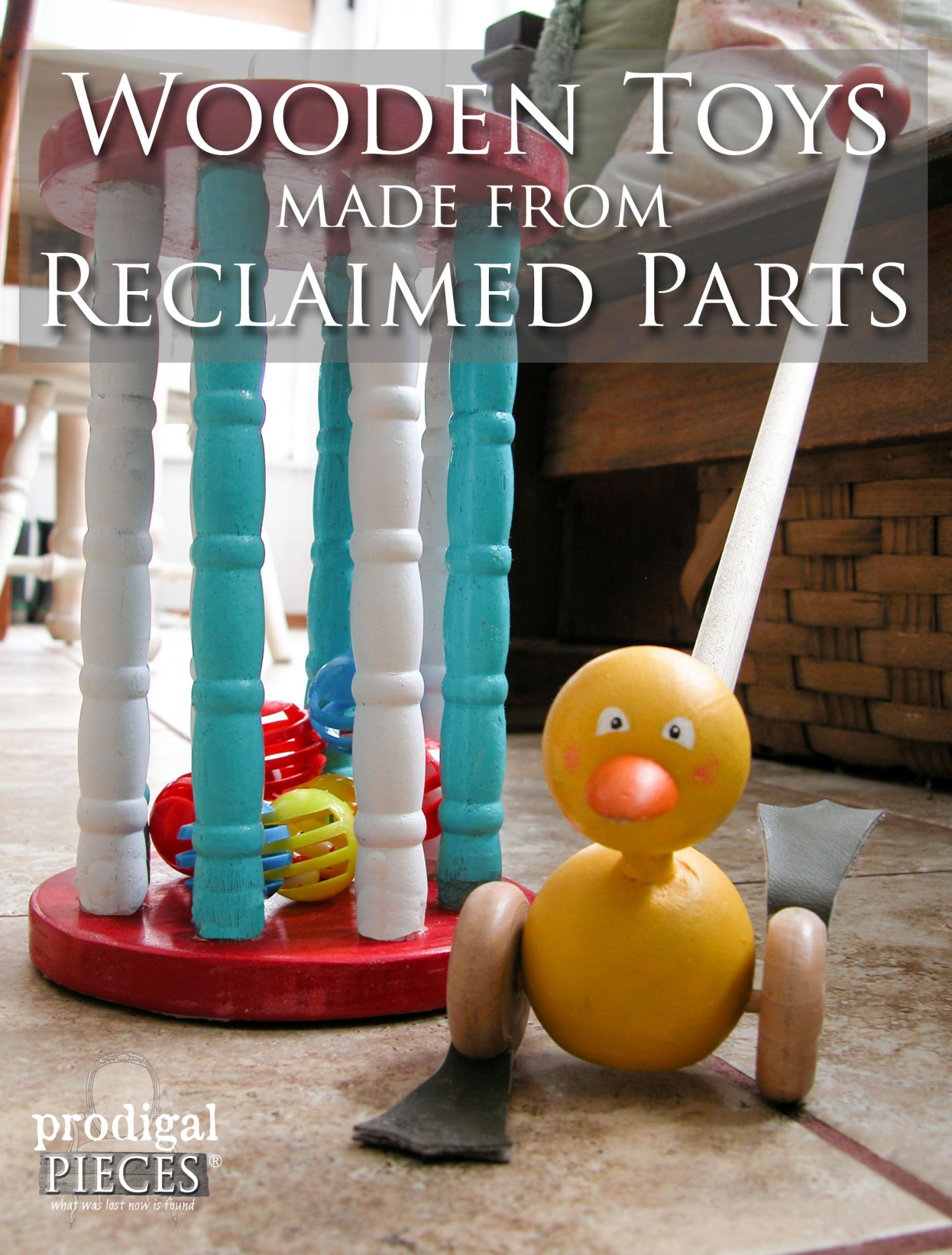 Classic Wooden Toys Made from Reclaimed Parts by Prodigal Pieces | www.prodigalpieces.com