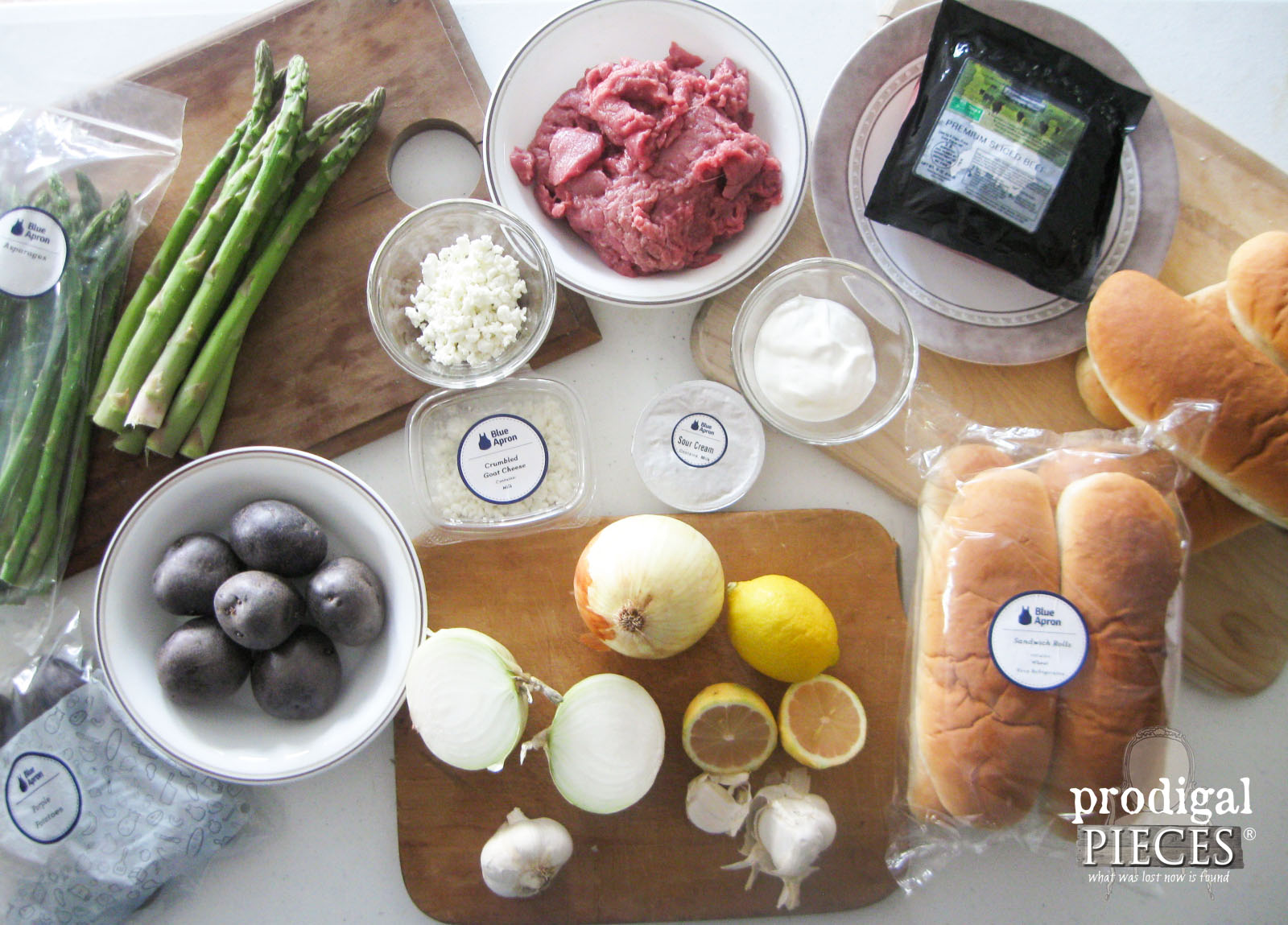 Blue Apron Meal Service for a Family of 8 | Prodigal Pieces | www.prodigalpieces.com
