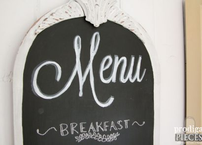 Featured Chalkboard Menu by Prodigal Pieces | www.prodigalpieces.com