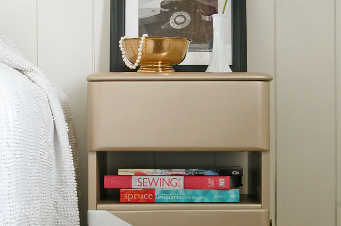 Featured Modern Chic Art Deco Nightstand by Prodigal Pieces | www.prodigalpieces.com