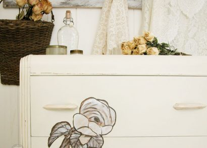 Featured Shabby Chic Chest of Drawer | Prodigal Pieces | www.prodigalpieces.com