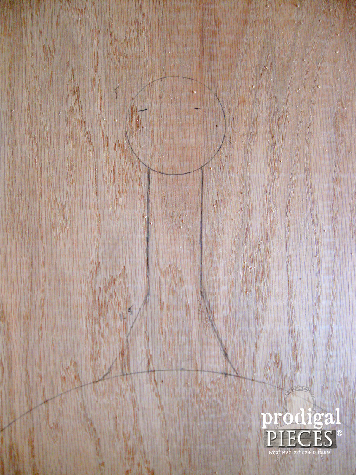 Pencil Drawing for DIY Cheese Board | Prodigal Pieces | www.prodigalpieces.com