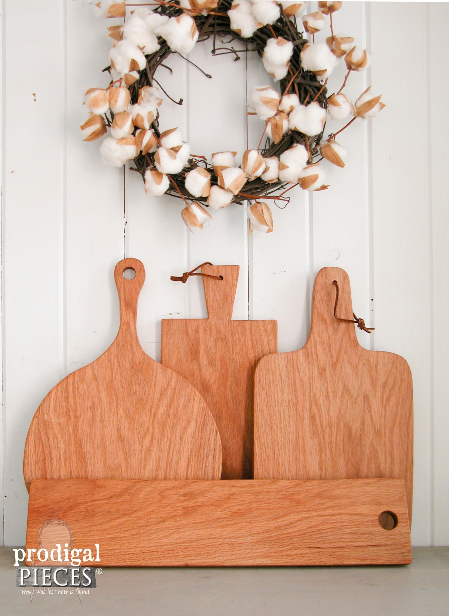 You Can Have Your Own Collection of Farmhouse Cutting Boards for $34 Using this Tutorial by Prodigal Pieces | www.prodigalpieces.com