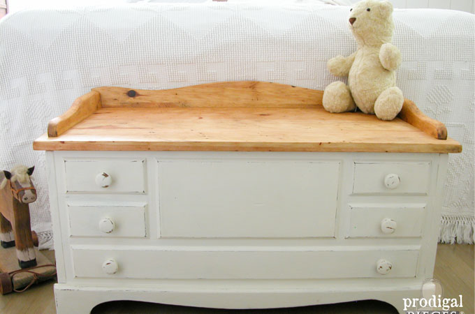 Featured Child's Wooden Chest by Prodigal Pieces | www.prodigalpieces.com