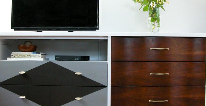 Entertainment Console from Curbside Dresser