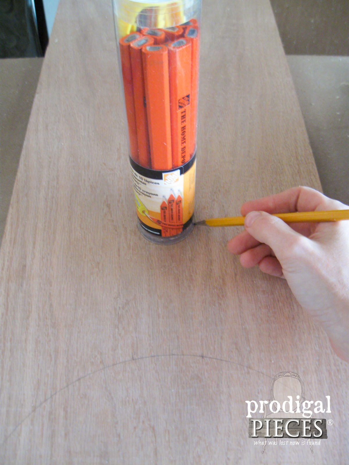 Creating Cheese Board Handle | Prodigal Pieces | www.prodigalpieces.com