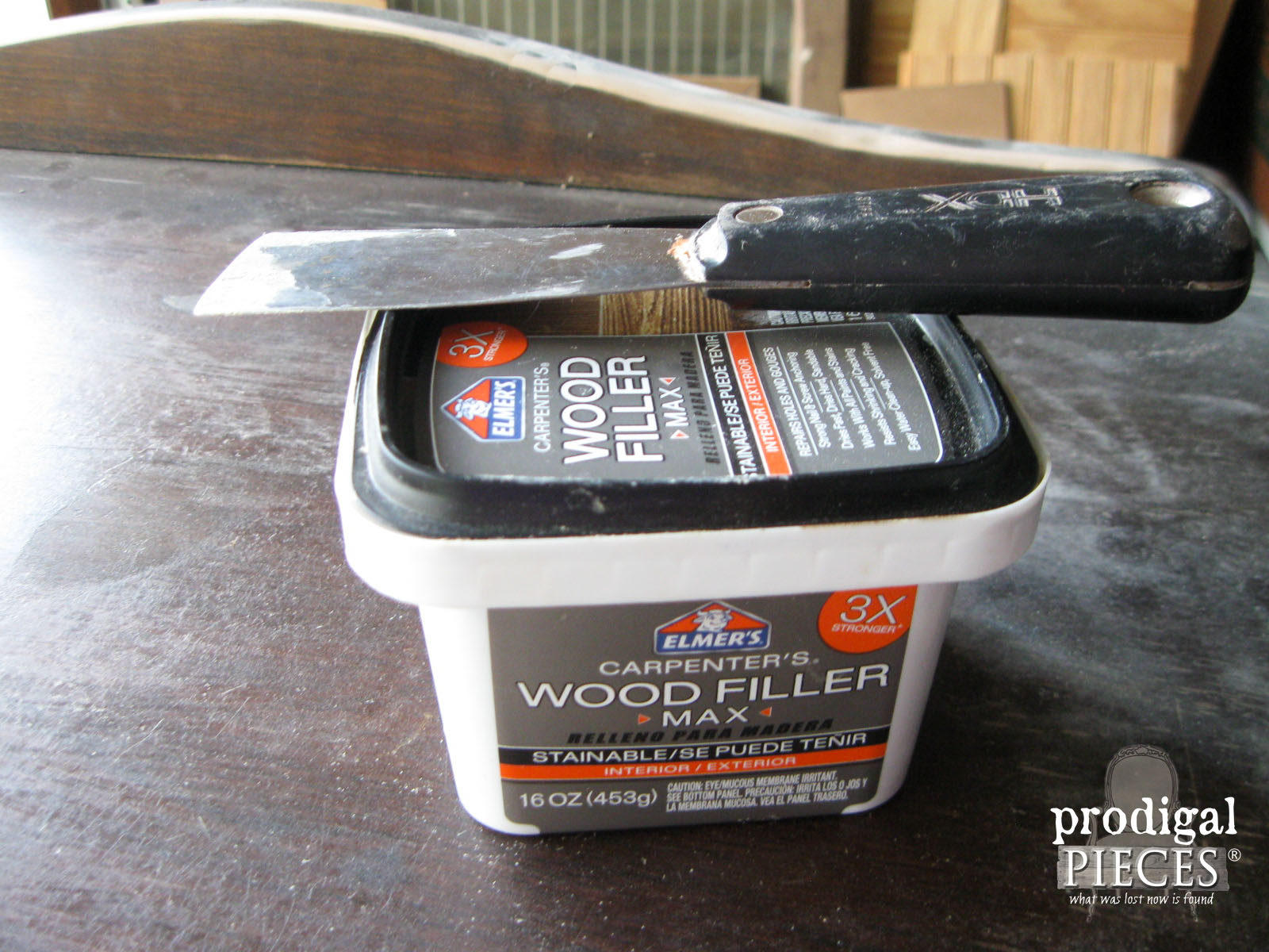 Elmer's Wood Filler for Making Repairs | Prodigal Pieces | www.prodigalpieces.com