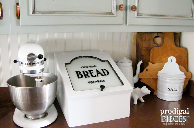 Featured Repurposed Bread Box by Prodigal Pieces   www.prodigalpieces.com