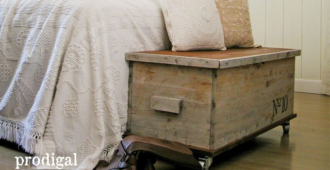Cedar Chest from Trash to Treasure