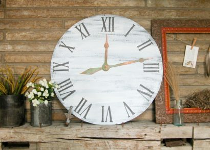Featured Faux Clock DIY by Prodigal Pieces | www.prodigalpieces.com