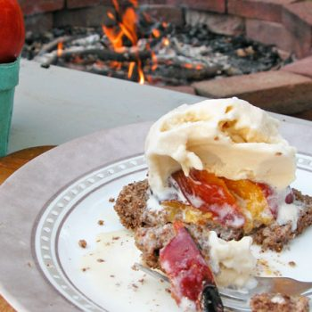 Featured Roasted Stone Fruit Dessert by Prodigal Pieces | www.prodigalpieces.com