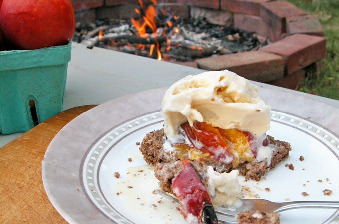 Featured Roasted Stone Fruit Dessert by Prodigal Pieces   www.prodigalpieces.com