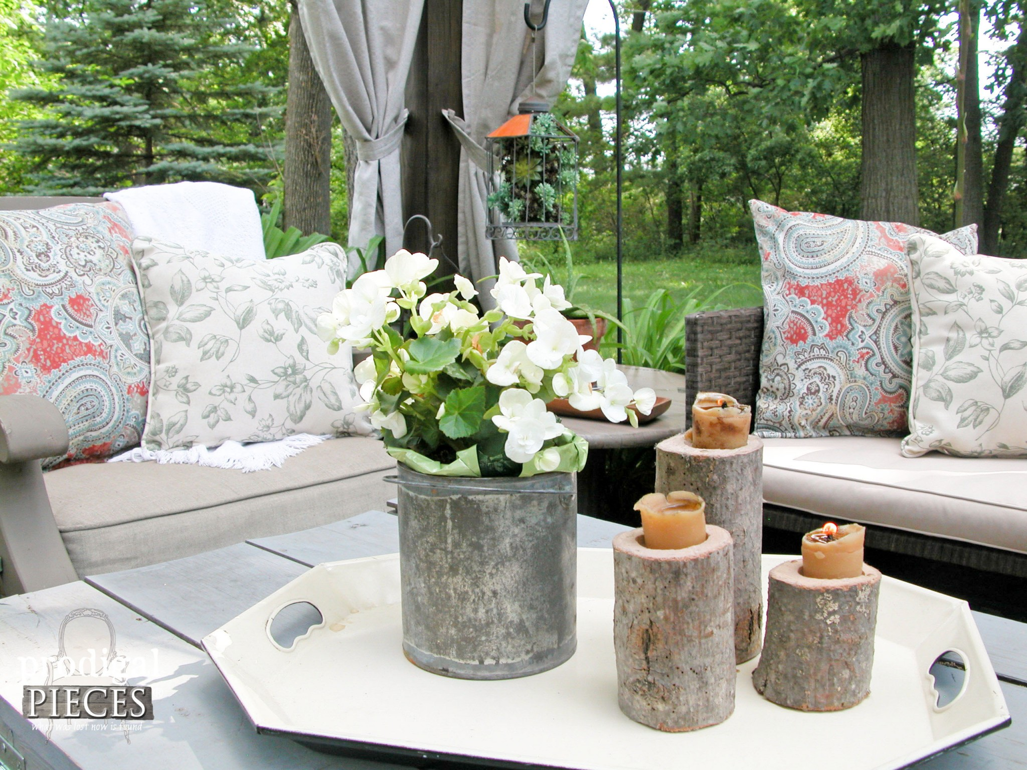 Outdoor Pillows on a Budget by Prodigal Pieces | www.prodigalpieces.com
