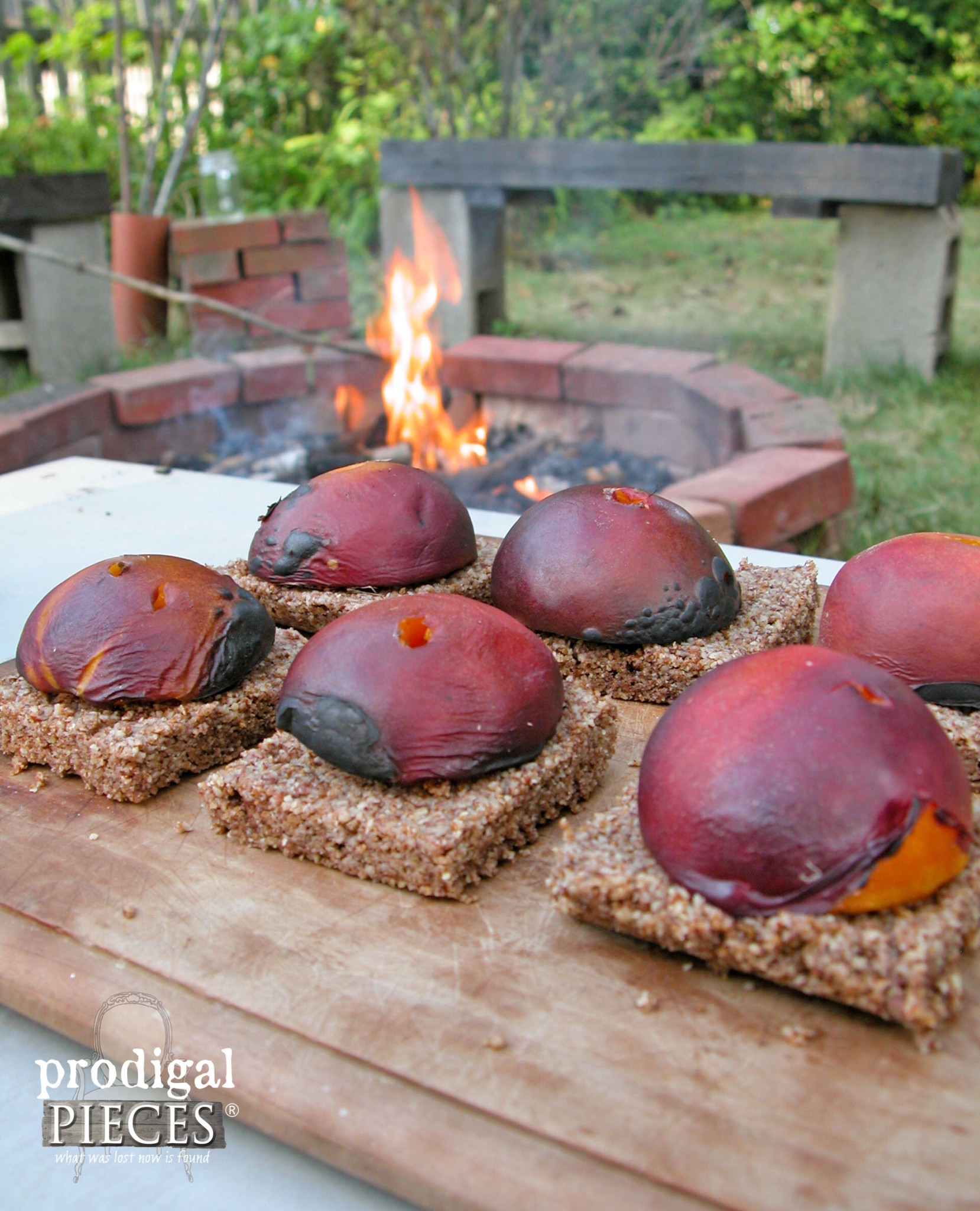 Roasted Stone Fruit on Grain & Gluten Free Crust by Prodigal Pieces | www.prodigalpieces.com