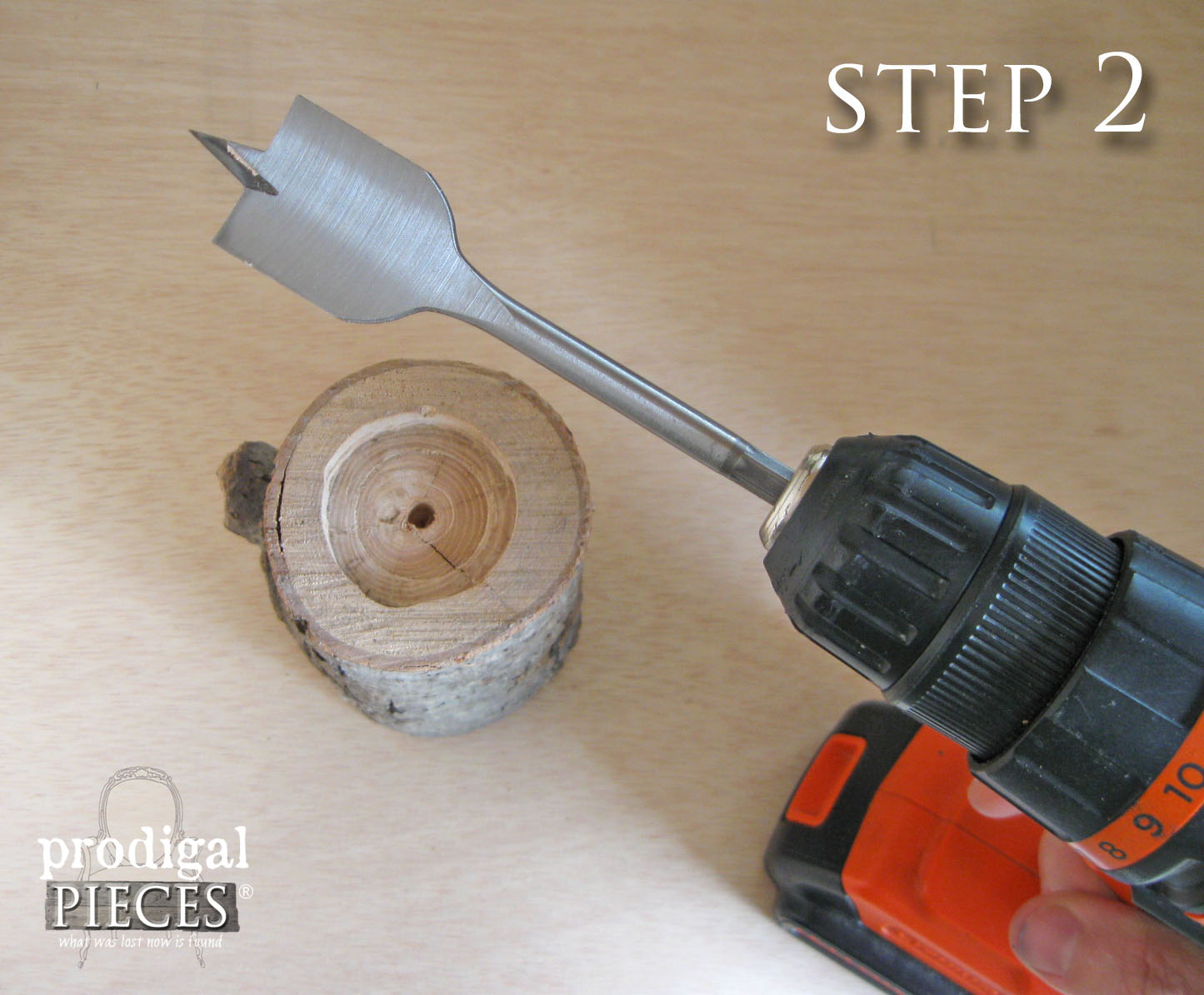 Drilling Log for Candlestick | Prodigal Pieces | www.prodigalpieces.com