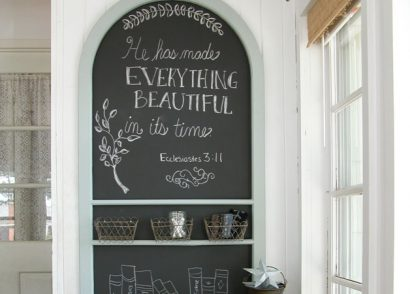 Featured Repurposed Screen Door Chalkboard by Prodigal Pieces | www.prodigalpieces.com