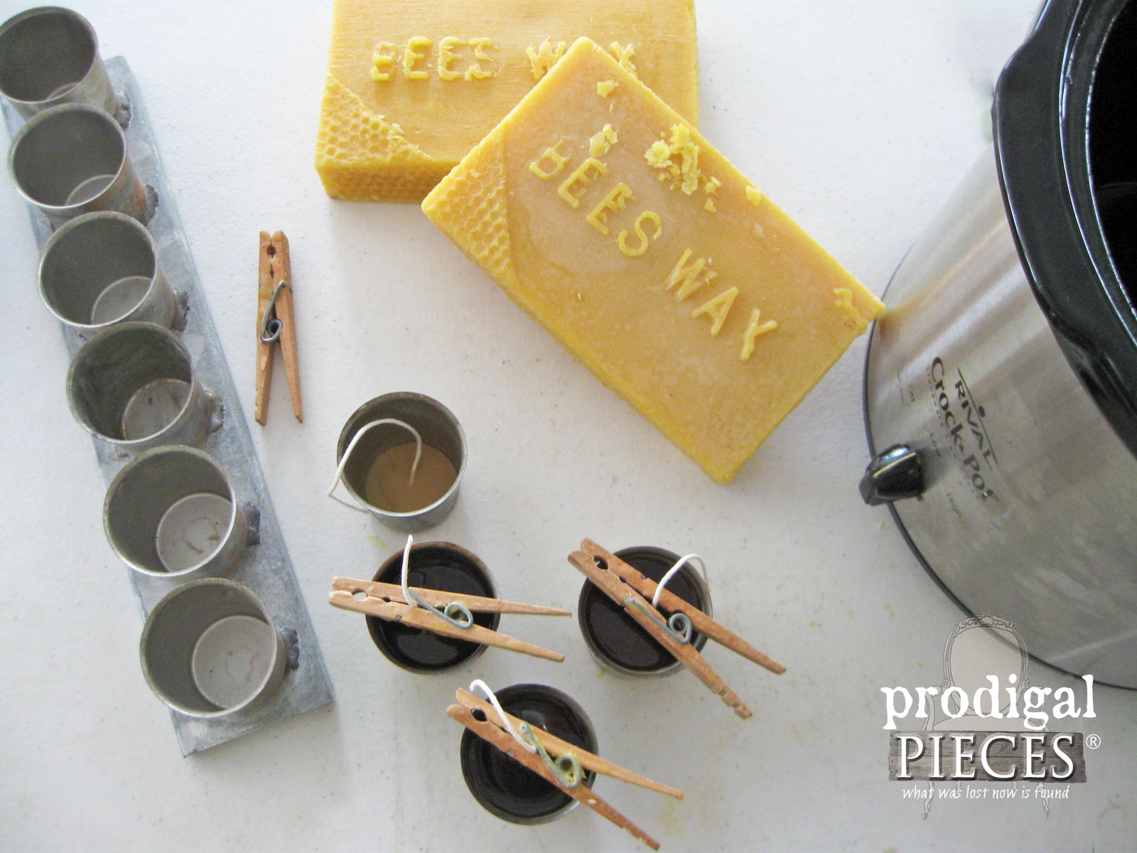 Making Natural Beeswax Candles by Prodigal Pieces | www.prodigalpieces.com