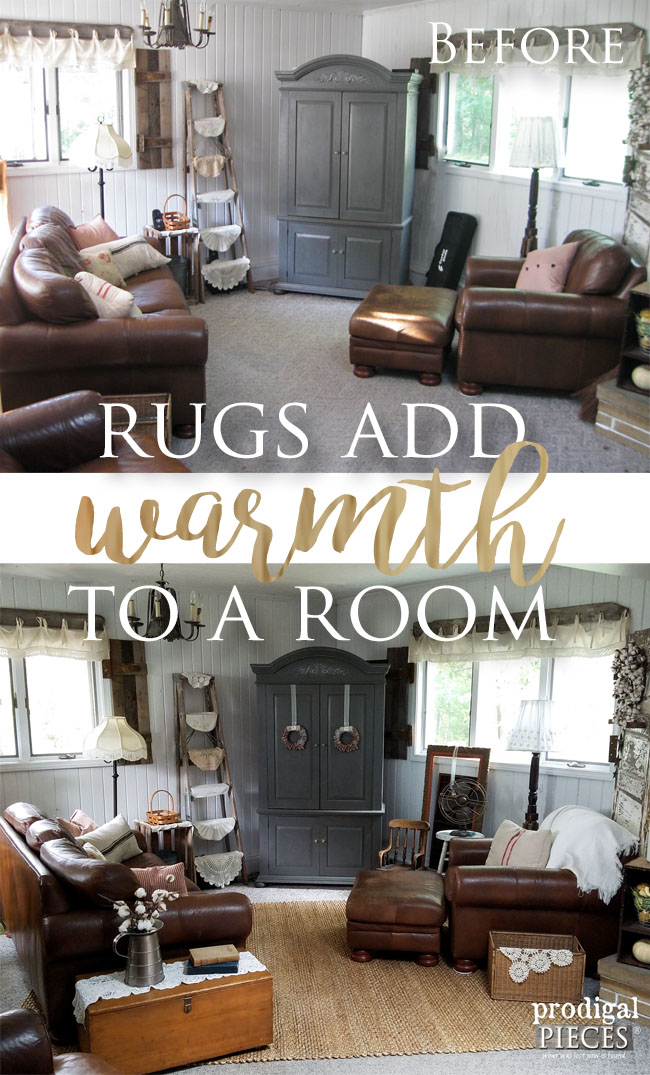 Add Warmth to Your Decor with this Source for Affordable Area Rugs | Prodigal Pieces | www.prodigalpieces.com