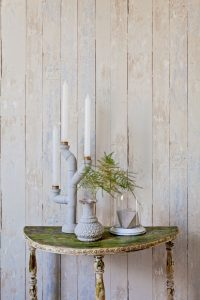 Chippy White Wood Wallpaper by Walls Republic via Prodigal Pieces | www.prodigalpieces.com