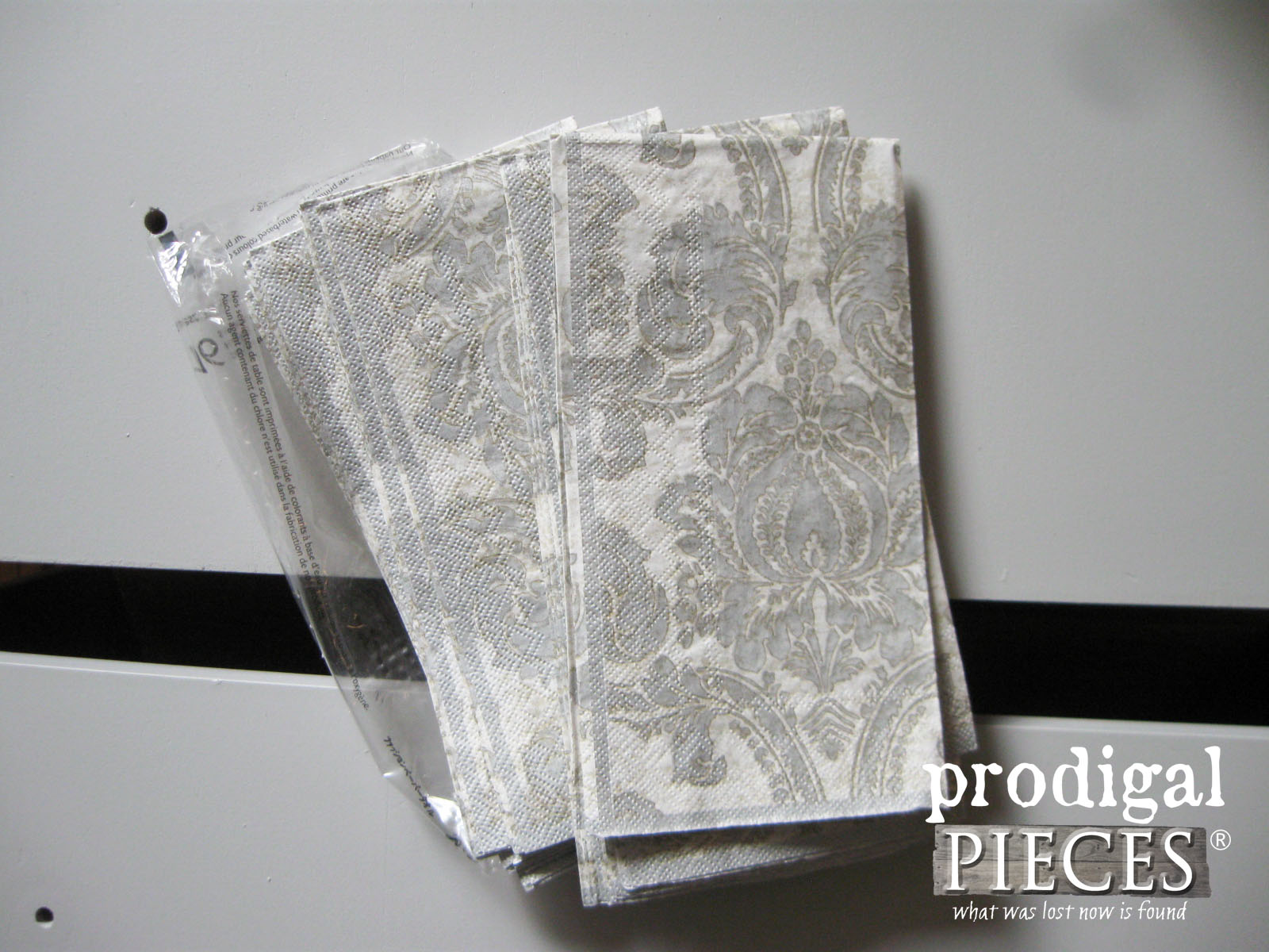 Paper Napkins to Decoupage Furniture by Prodigal Pieces | www.prodigalpieces.com