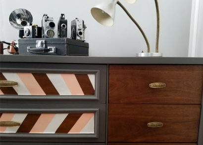 Featured Mid Century Modern Dresser Makeover by Prodigal Pieces | www.prodigalpieces.com