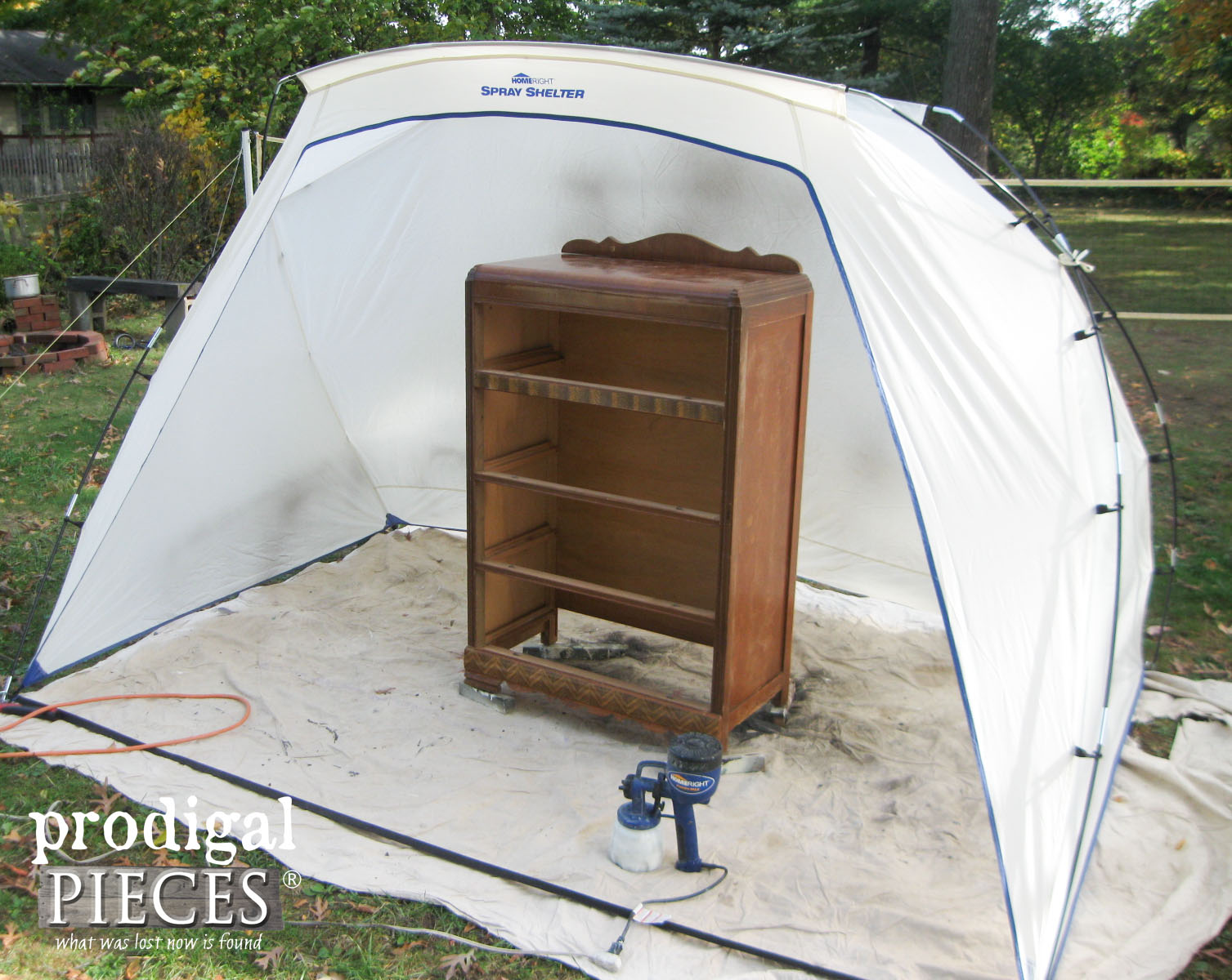 HomeRight Spray Shelter and Finish Max Paint Sprayer | Prodigal Pieces | www.prodigalpieces.com