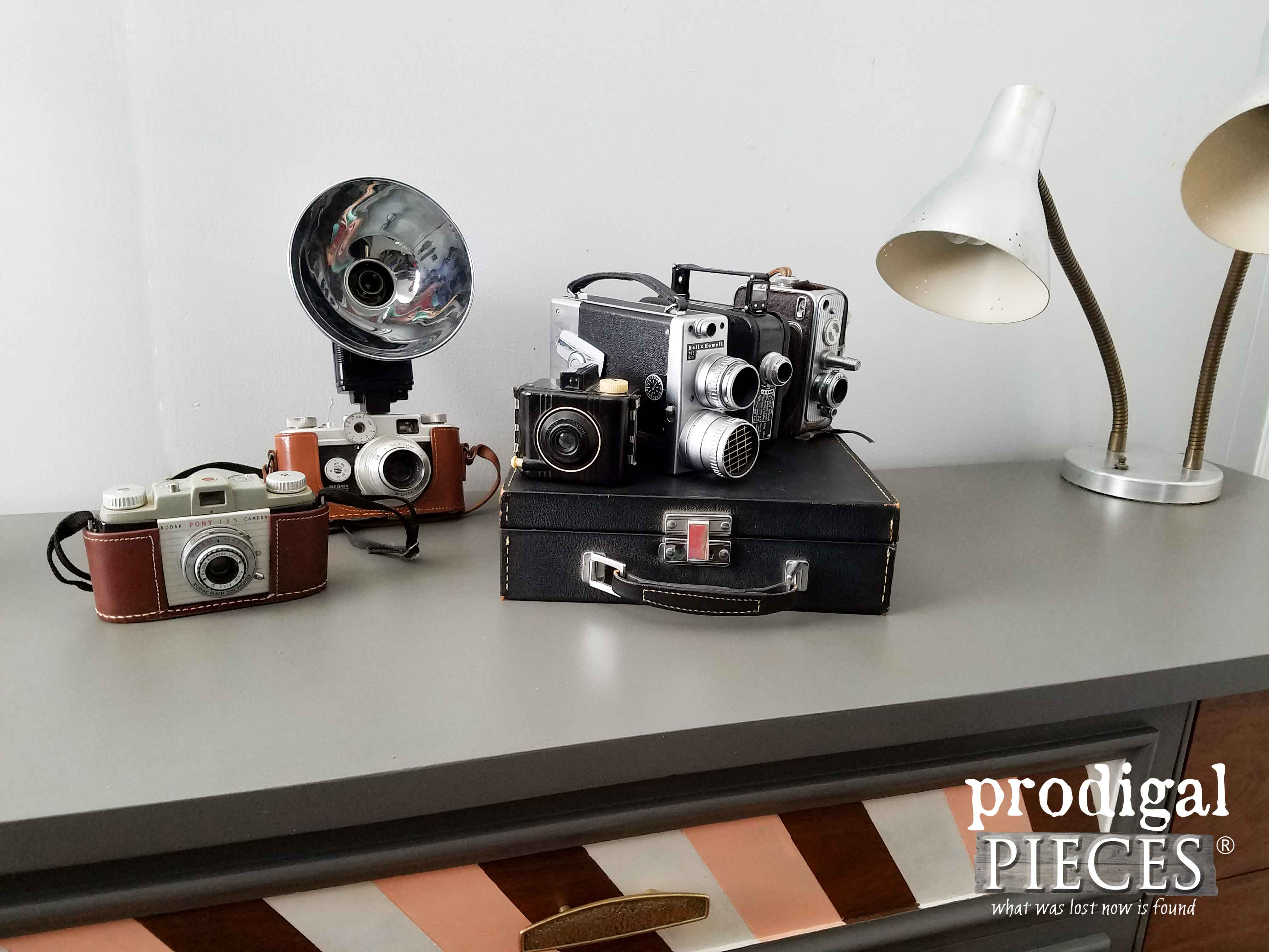Vintage Camera Collection by Prodigal Pieces | www.prodigalpieces.com